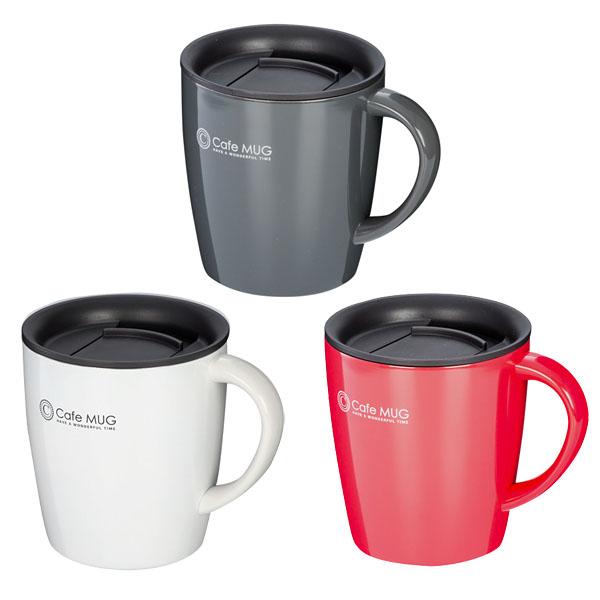 陶器調真空断熱マグカップ(330ml)