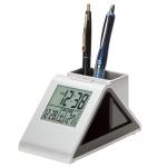 ペンスタンド電波時計