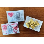 プチギフト メロウキッス チョコレート2個入り「アマビエ」