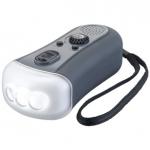 ダイナモ充電器FMラジオLEDライト