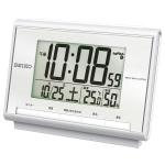セイコー 電波デジタル温湿度表示目覚まし時計