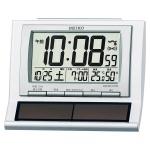 セイコー 電波デジタルハイブリッドソーラー目覚まし時計