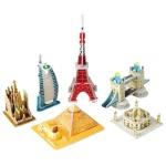 世界の建物3DパズルII