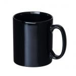 [回転シルク1色名入・版代込]マグカップ・ストレートタイプ大(300ml)黒
