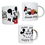 キャラクターマグカップ(ミッキー&ミニー)