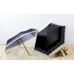 エレガンスローズ晴雨兼用折りたたみ傘