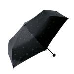 エンボス猫柄晴雨兼用折りたたみ傘