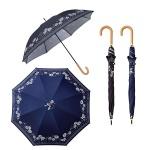 ローズドットボーダー晴雨兼用長傘