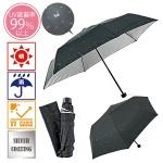 エンボスキャット晴雨兼用折りたたみ傘