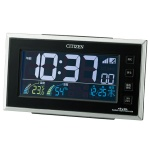 シチズン AC電源式デジタル電子音目覚まし電波時計