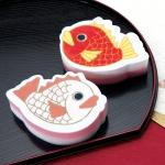 紅白めで鯛キッチンスポンジ