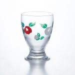 夢椿・台付グラス