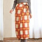 グレースチェック・スカートケット