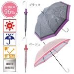 ビビッドチェック・晴雨兼用長傘