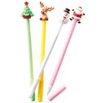 クリスマス フィギア付ボールペン