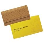 オーストリッチ調風水財布