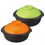 ヘルシー土鍋(カラフル)1個