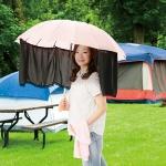 かんたん装着傘カーテン