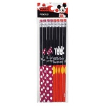 みんなのキャラクター消しゴム付鉛筆8本組