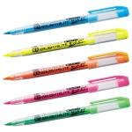 ブラッシュハイライト蛍光筆ペン1本