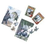 恐竜ジグソーパズル20ピース1個