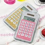 イリーデクリスタル電卓1個