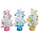 クリスマスホワイトミニツリー1個