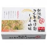 新潟発コシヒカリ麺しょうゆ味2食入